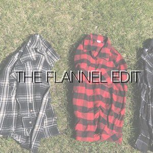 THE FLANNEL EDIT